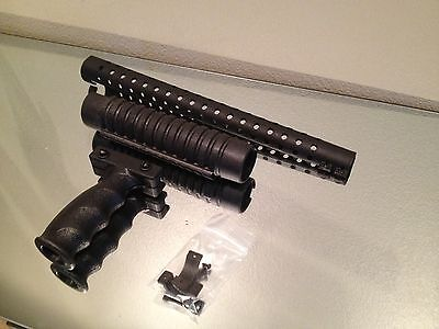Norinco Hawk Forend Vertical Grip Heat Shield Picatinny Rail Shotgun Combo