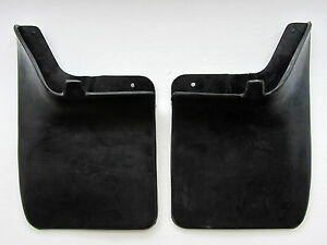 97-05 NISSAN NAVARA D22 FRONTIER TRUCK REAR PAIR MUD GUARD FLAPS