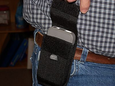 Universal Cell Phone Holster. No Clip, Has Belt Loop. Great For Outdoors.