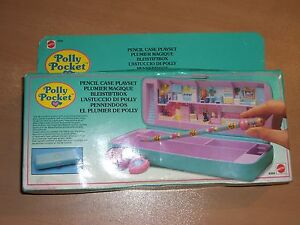 VINTAGE-1990-POLLY-POCKET-PENCIL-CASE-PLAYSET-MIB-6304
