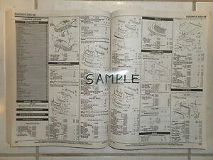 2003-2004-SUBARU-FORESTER-PARTS-LIST