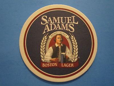 BEER Bar Drink COASTER ~ SAMUEL ADAMS Brewery ~ Best Beer in America
