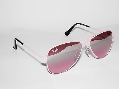 RAY BAN kids sunglasses RJ 9506S PINK 9506 JUNIOR AVIATORS 211/7E JR FREE S/H