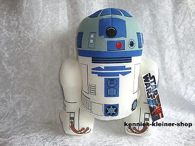 """Star Wars """"R2-D2"""" Stofftier-Figur XL Starwars Krieg der Sterne 35 cm R2/D2"""