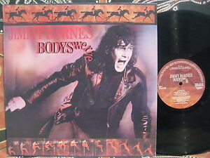 JIMMY-BARNES-Bodyswerve-1984-OZ-Rock-LP-Cold-Chisel