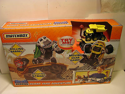 Matchbox Big Rig Buddies Scrap Yard Adventure Includes 1 Vehicle In Box