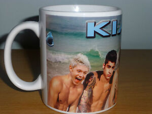 ONE DIRECTION Personalised Mug with your name and message.
