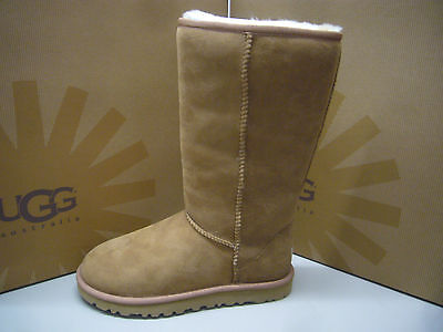 Ugg Womens Boots Classic Tall Chestnut Size 7