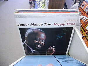 Junior-Mance-Happy-Time-vinyl-LP-Jazzland-Records-EX-stereo