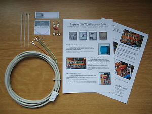 GPO/BT 722 TRIMPHONE TELEPHONE CONVERSION KIT - FREE P&P