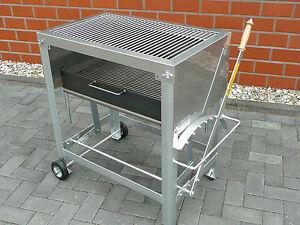 profi edelstahl holzkohlegrill grills ebay. Black Bedroom Furniture Sets. Home Design Ideas