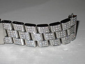 New-Mens-Breitling-Super-Avenger-Diamond-Bracelet