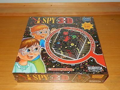 NEW BRIARPATCH I SPY 3-D GAME FOR KIDS 5+ SCHOLASTIC INCLUDES 3D GLASSES