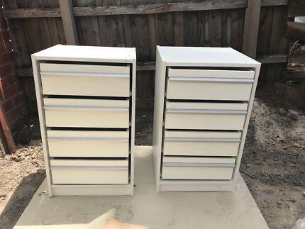 X2 Cabinets Wardrobe Storage Draws