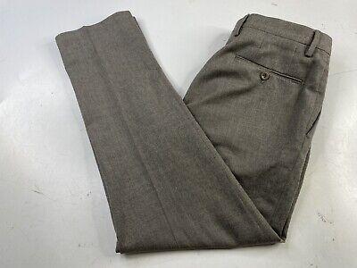 Incotex Slowear Men's Size 46 Gray Dress Pants High Comfort Wool Stretch