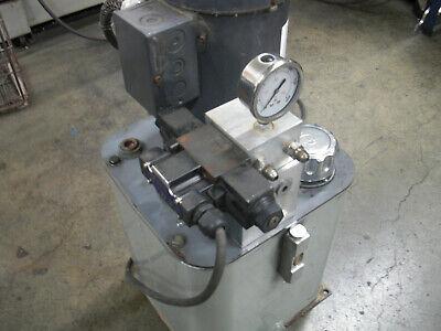 Haldex Ac Hydraulic Power Unit 2 Hp 1500psi 2gpm 208230460vac 3ph