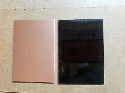 3 Pcs Single Sided Copper Clad Circuit Board Laminate Fr-4 .030. Black 4 X 6