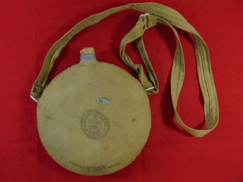 Vintage Boy Scouts Of America Canteen - Woolwine Metal Products Company