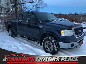"2008 Ford F-150 XLT, 4x4, 8cyl, 4WD, 150"", warranty included!"