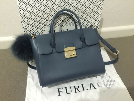 Furla bag and key ring