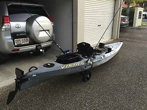 Viking Kayak - Profish 45 with sounder and lots of accessories. Auchenflower Brisbane North West Preview