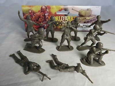 New remade WWII Russian infantry mix of Airfix and Marx poses-20 in 10 poses54mm
