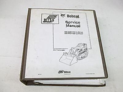 Bobcat Mt50 Mini Track Loader Service Manual Manual Revisions