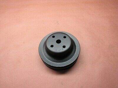 OEM GM Dual Double 2 Groove Water Pump Pulley 355776 Chevy Truck 250 6-Cylinder