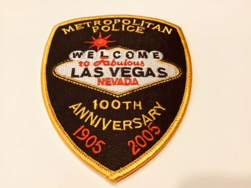 LAS VEGAS METROPOLITAN 100TH  POLICE PATCH
