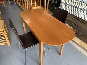 slimline Dining Table with 2 x Chairs - Bargain