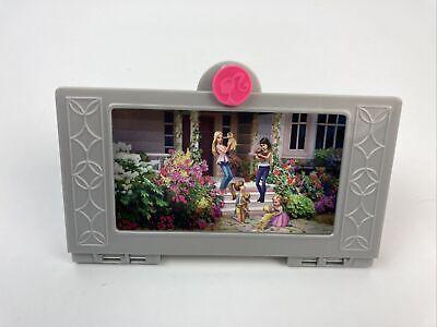 2015 Mattel Barbie Dream House Replacement Part Television TV Flat Screen