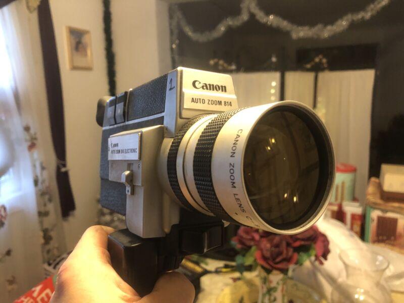canon auto zoom 814 super 8