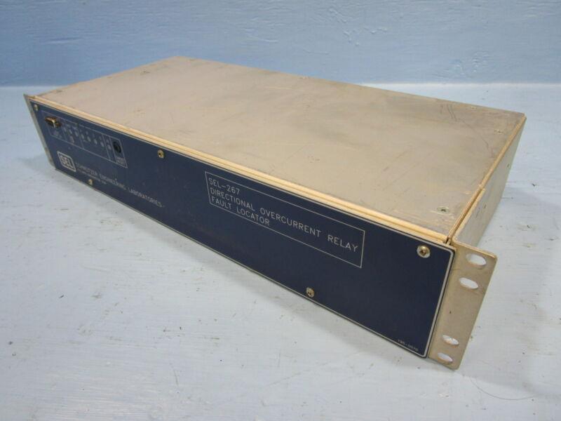 Schweitzer SEL-267-4 Directional OverCurrent Relay SEL267 Fault Locator 267004