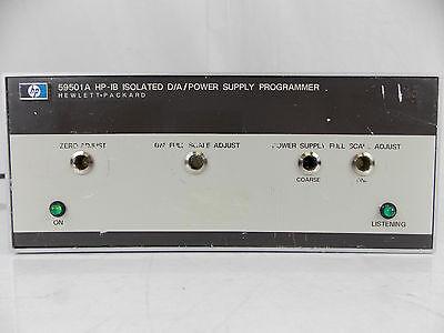 Hp Agilent 59501a Hp-ib Da Power Supply Programmer