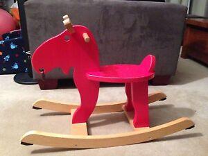 IKEA Wooden rocking moose City Beach Cambridge Area Preview
