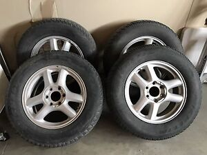 Michelin Winter tires with rims P245 65P 17