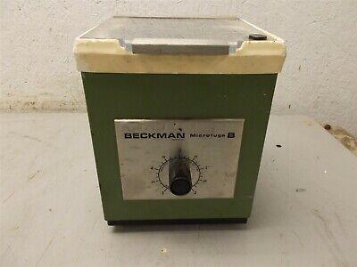 Beckman Microfuge B 10000 Rpm Tabletop Centrifuge