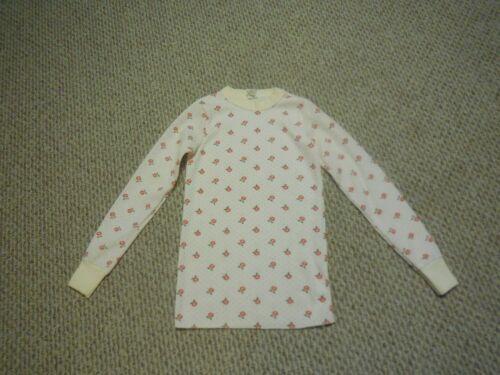 VINTAGE Girls Thermal Underwear Top Size Large 14-16