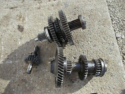 Massey Ferguson To35 Tractor Complete Set Transmission Gears W Shafts Top Bot R