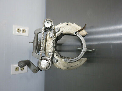 Mathey Dearman Model Msa 1.5 - 4 Pipe Beveler Beveling Machine Made In Usa