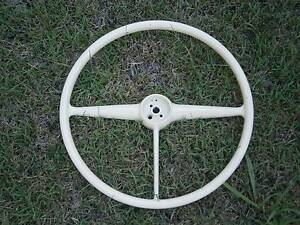 Large Vintage Steering Wheel - probably off a Chevrolet Ute Coopers Plains Brisbane South West Preview