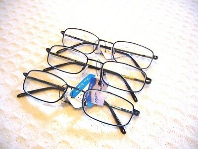 SMALLER READING GLASSES KIDS OR ADULTS GR8 SPRING HINGE METAL (1.00 - 3.00) (Youth Reading Glasses)