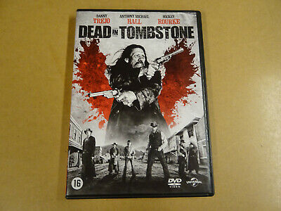 DVD / DEAD IN TOMBSTONE ( DANNY TREJO, ANTHONY MICHAEL HALL, MICKEY ROURKE )