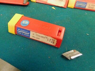 10 Sandvik Coromant Vl 170.6-6505 M Pfl-8u1 Carbide Inserts Knux 160410l