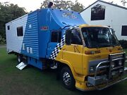 Motorhome toy hauler Boambee Coffs Harbour City Preview