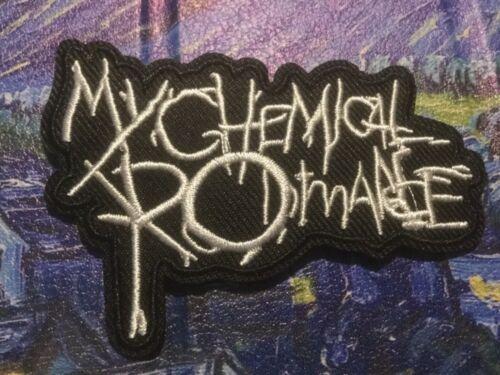 "MY CHEMICAL ROMANCE PATCH  UMBRELLA ACADEMY GERARD WAY BLACK PARADE 3.25x2.25"""