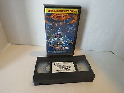 Transformers: The Movie (VHS, 2000, Special Collectors Edition)
