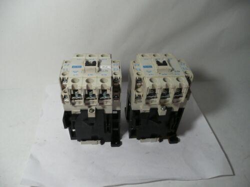 LOT OF 2 MITSUBISHI SD-N35 MAGNETIC CONTACTORS, 2 PCS