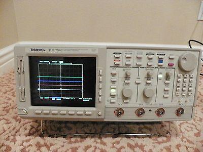 Tektronix Tds 754c 500 Mhz Oscilloscope Wopt 13-1f-hd-2m-2f