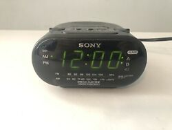 SONY Dream Machine FM/AM Alarm Clock Radio Model ICF-C318 Black,